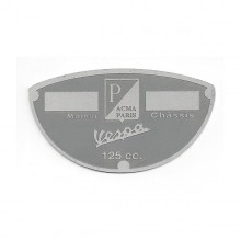 Plaque des mines - Acma grise