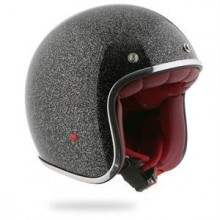 Casque jet Pearl Indianapolis rouge  -Stormer