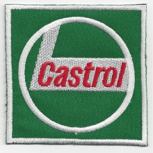 Patch brodé thermocollant Castrol