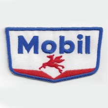Patch brodé thermocollant Mobil