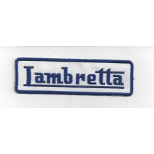 Patch brodé thermocollant Lambretta - 11,5 cm