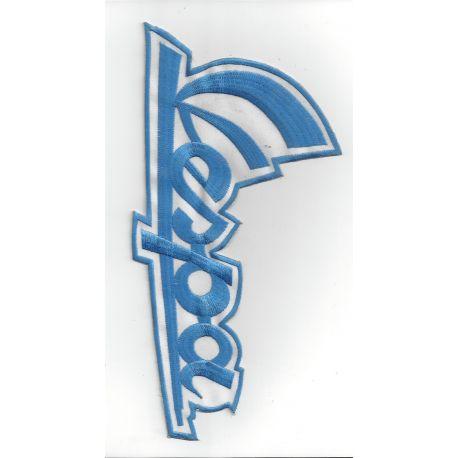 Patch thermocollant brodé logo Vespa - 27 cm