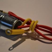 Condensateur 2 fils - Vespa Super, Sprint, Rally