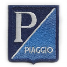 Patch brodé thermocollant Piaggio - 8 cm