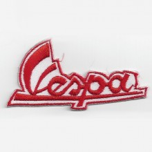 Patch brodé Vespa rouge horizontal