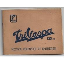 Notice d'entretien Trivespa