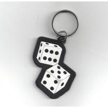 Porte-clef dés