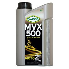 Huile 2T semi-synthèse MVX 500 Yacco - 2L