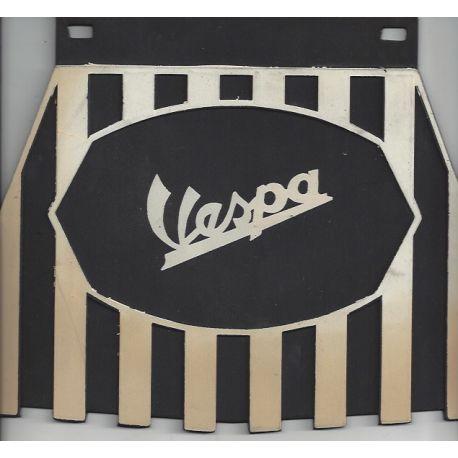 Bavette Vespa vieillie à bandes noires et blanches - Vespa tous modèles