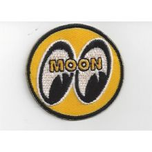 Patch brodé thermocollant Moon - 4,5 cm