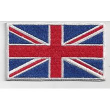 Patch brodé thermocollant Union Jack - 8 x 4,5 cm
