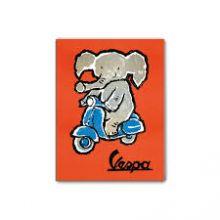 Magnet Vespa 8x6 cms Elephant - Forme
