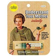"""Spray """"Understand your mother instantly""""- Marc Vidal"""
