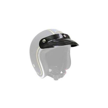 Casquette plastique noire universelle - 3 pressions