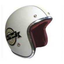 Casque jet metal flake - Torx Famous blanc