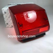 Cabochon de feu arrière avec casquette noire -  Vespa GTR 125, Sprint 150, Rally 180, TS