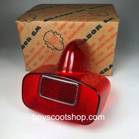 Cabochon de feu arrière rouge Siem - Vespa Type N / GS