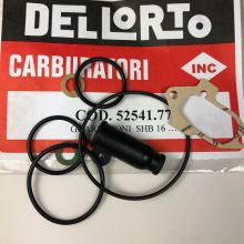 Pochette de joints Dell'Orto, carburateur 16/10, 16/16, 19/19 - Vespa 50, Primavera, ET3