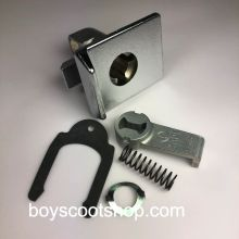 Serrure de boite à gants PX Chromée, origine Piaggio - Vespa PX 125-200