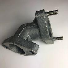 Coude / pipe pot d'échappement - Vespa small frame, V5A, 50 Special, Primavera et ET3