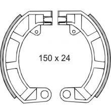 Mâchoires de frein arrière, 10 pouces - Vespa small frame, 50 Special, V5A et Primavera
