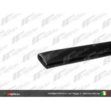 Entourage de tablier, plastic noir  - Vespa PK 50-125