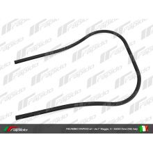 Entourage de tablier, plastic noir  - Vespa PX PE 80-125-200
