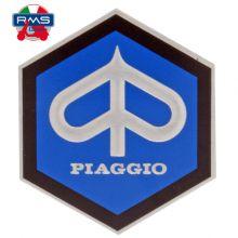 Monogramme / insigne de descente de klaxon, adhésif 42 mm - Vespa large frame, GT, GTR, Sprint, Rally