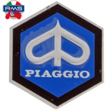 Monogramme / insigne de descente de klaxon, adhésif 31 mm - Vespa PX 80-125-200, PK 50-125, small frame, V5A, 50 Special, Primav