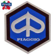 Monogramme / insigne de descente de klaxon, adhésif 26 mm - Vespa PX 80-125-200, PK 50-125, small frame, V5A, 50 Special, Primav