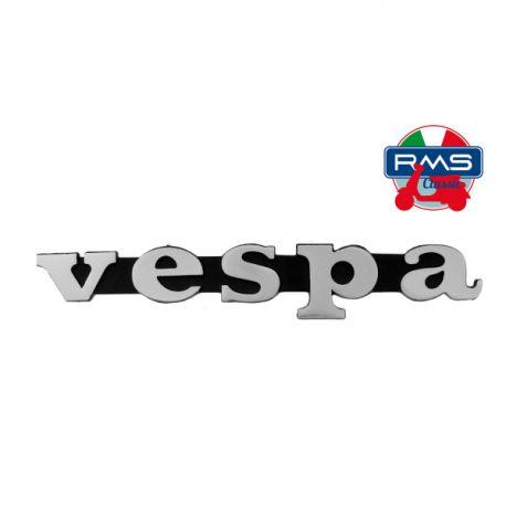 """Monogramme / insigne d'aile """"Vespa"""" court, 12 cm, (2 insert L: 5,8 cm) - Vespa PX 80-125-200"""