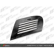 Portière d'aile noire avec levier - Vespa small frame, V5A, Primavera, ET3