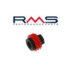 Engrenage/ pignon d'axe de roue / compteur - Vespa small frame, V5A, 50 Special, Primavera