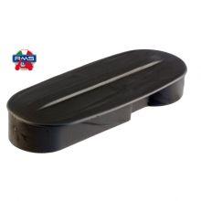 Cache balancier / enjoliveur de fourche, plastic noir - PX 1ère série, PX 125-200