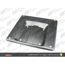 Support de plaque d'immatriculation, 170x170 - Vespa small frame, V5A, 50 Special, Primavera, ET3