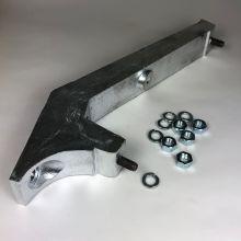 Porte-roue de secours, 9 pouces + visserie - Vespa V5A, 50 Special, Small frame