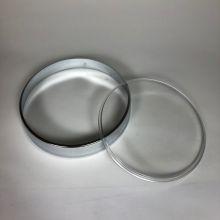 Kit cerclage de compteur  noir + vitre - Vespa PX 80-125-200