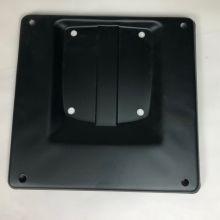 Support de plaque d'immatriculation métal noir , 170x170 - Vespa 50/125/Prim/ET3