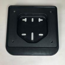 Support de plaque d'immatriculation plastic noir - Vespa tous modèles
