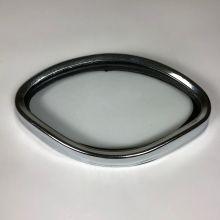 Cerclage de compteur, vitre + entourage chromé - Vespa Acma, Type N, VNB, VBB, VBA