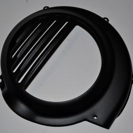 Cache Volant Magnétique Noir - Vespa PX, PE sans démarreur