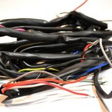 Faisceau électrique - Vespa PX avec clignotants, sans batterie, sans demarreur